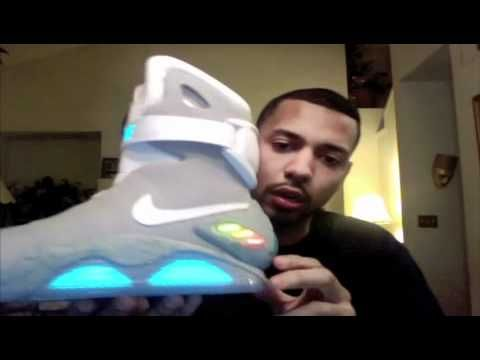 The Official Nike AIR MAG SNEAKER REVIEW AND UNBOXING of kicks