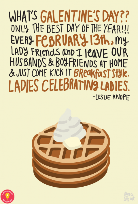 Galentines Day Quotes Galentine's Day 2015 | Park, Leslie knope and TVs Galentines Day Quotes