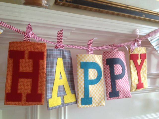 memory quilt maker happy birthday banner for fabric fest crafty