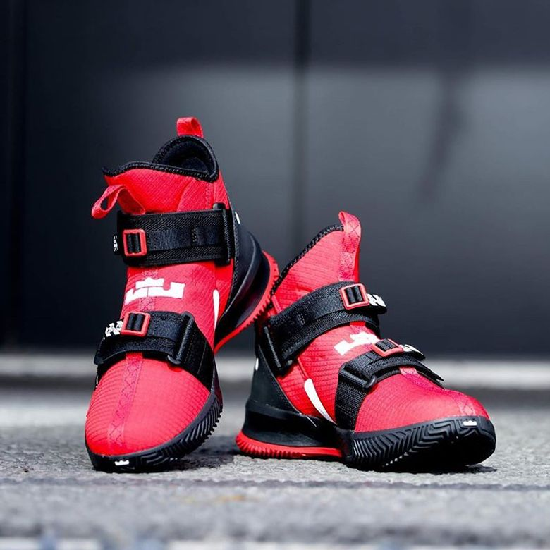 Nike LeBron Soldier 13 University Red AR4228 600 Release