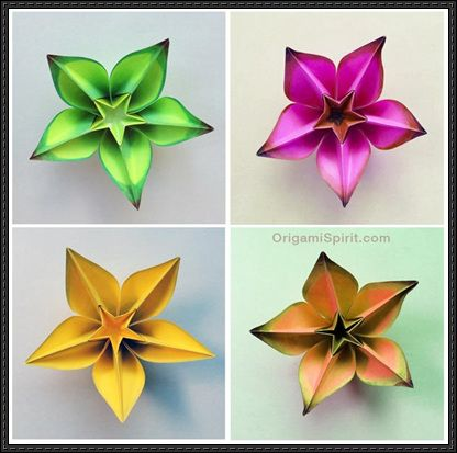 This Paper Craft Is A Butterfly Origami Designed By Carmen Sprung And The Video