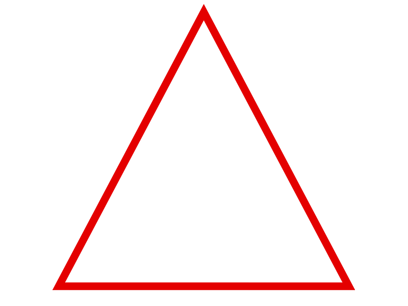 Triangle Outline Triangle Banner Triangle Gothic Fantasy Art