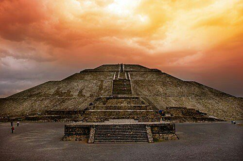 Las piramides de mexico