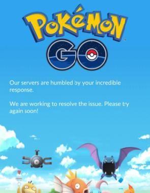 Otra vez estamos sin #PokémonGo https://t.co/GKsQCCl1lx...