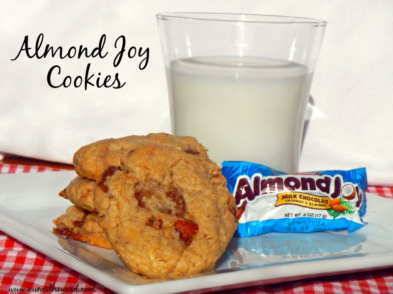 Almond Joy Cookies - These cookies taste just like an Almond Joy Candy bar and incredibly addicting.  If you love Almond Joy's, you will love these cookies!
