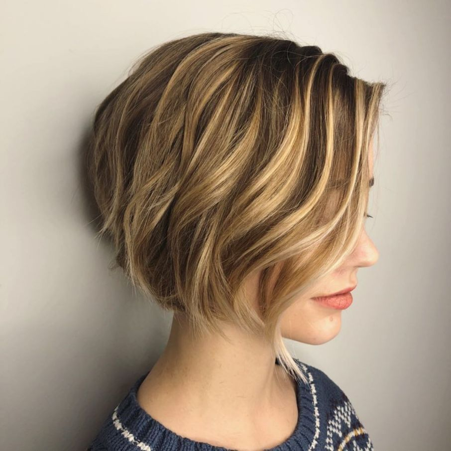 100 Mind Blowing Short Hairstyles For Fine Hair In 2020 Short Bob Hairstyles Short Hair Styles Chin Length Hair