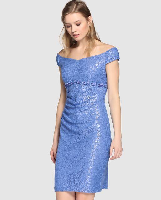 El corte ingles vestido corto de fiesta