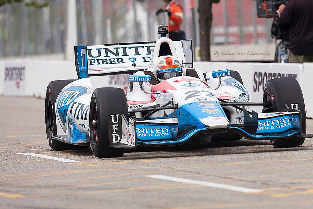 James Hinchcliffe Canadian 27 Indy Cars Indycar Series Indy 500