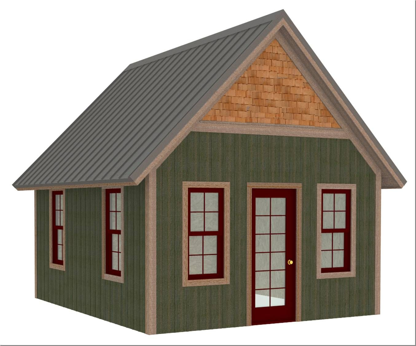 This almost 200sf cabin would typically retail for between