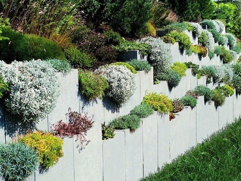 l-steine – oberfläche sichtbeton, farbe steingrau | garten, Garten und erstellen