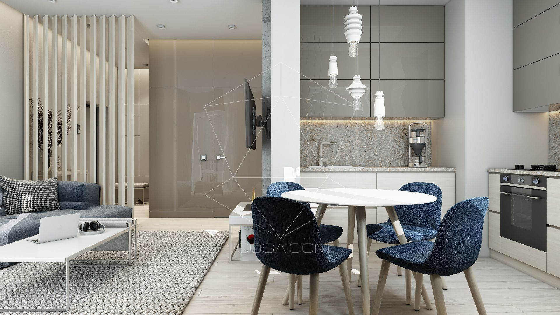 Apartment in ukraine iqosa design interior interiordesign apartment architecture architect