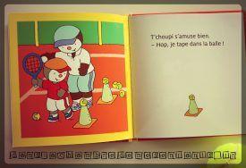 T'choupi fait du tennis  - Editions Nathan