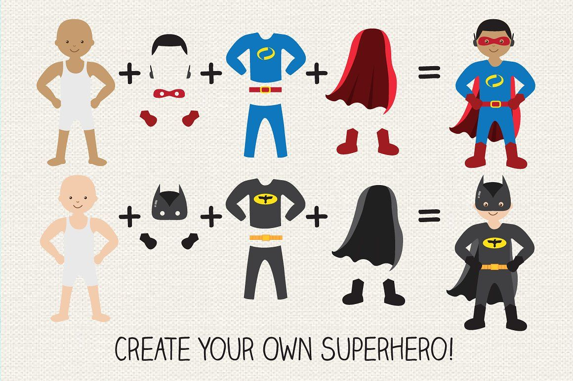 Superhero Creator Kit