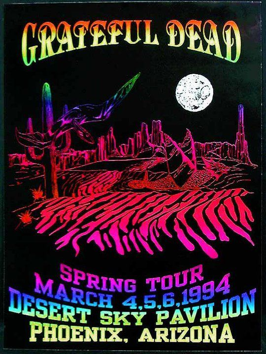 Grateful Dead Live at Desert Sky Pavilion on 1994-03-05 : Free