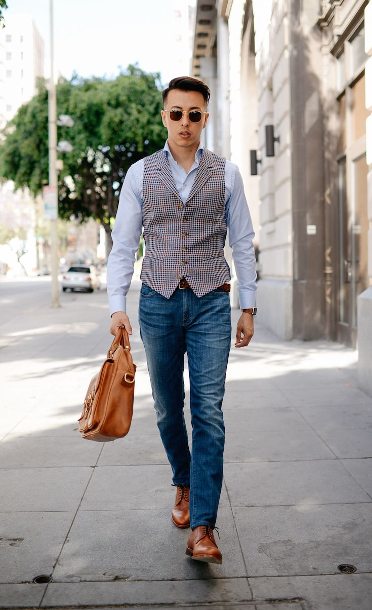 How to: men's outfit with vest