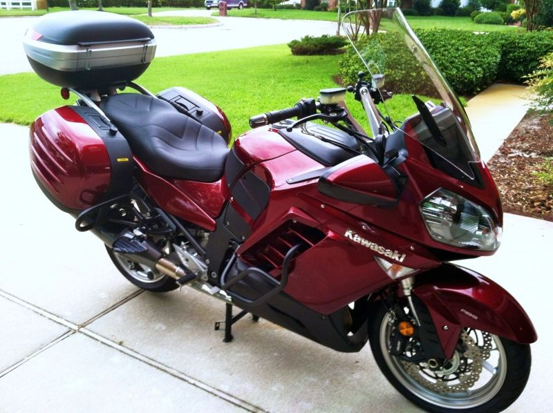 Kawasaki Concours 1400 Touring Bike Touring Motorcycles Kawasaki Motorcycles