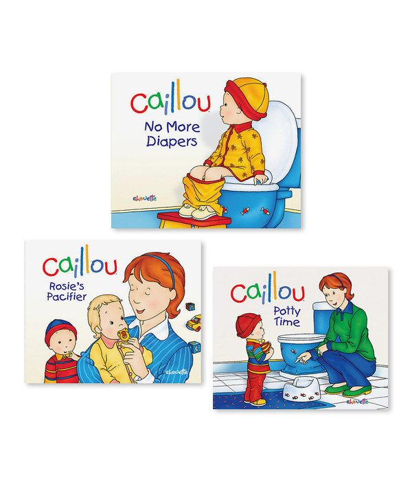 Look At This Caillou Growing Experiences Book Set On Zulily Today Toddler Books Book Set Caillou