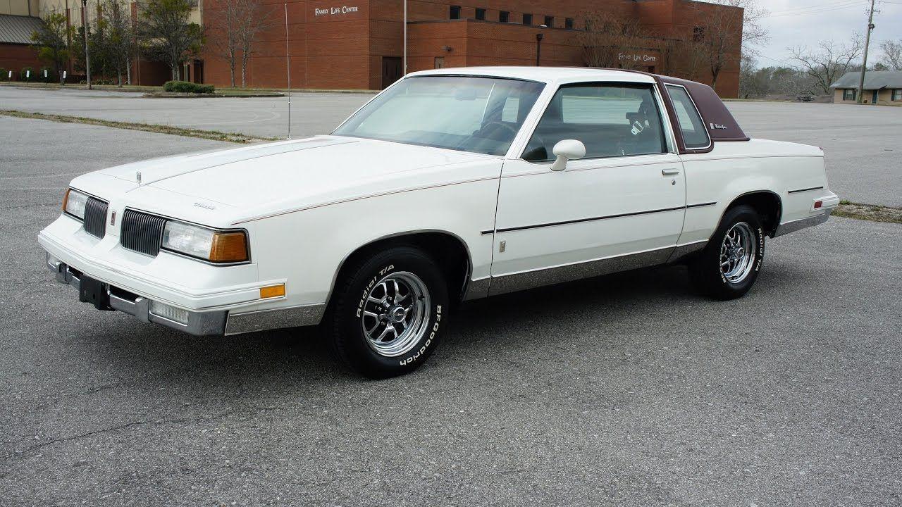 1987 Oldsmobile Cutlass Supreme White W Maroon Landau Top My Second Car Oldsmobile Cutless Oldsmobile Cutlass Supreme Oldsmobile