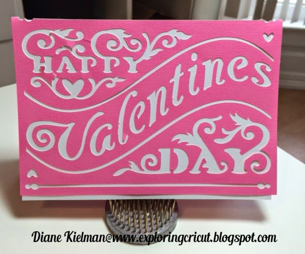 Exploring Cricut Valentine Cards and Challenge 8  Cricut