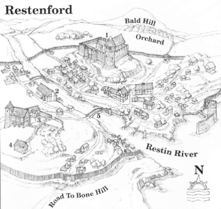 The Restenford Project   Fantasy Maps in 2019   Fantasy city map