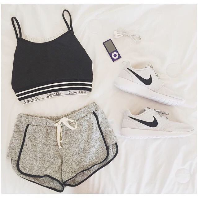 Photo of cute workout gear