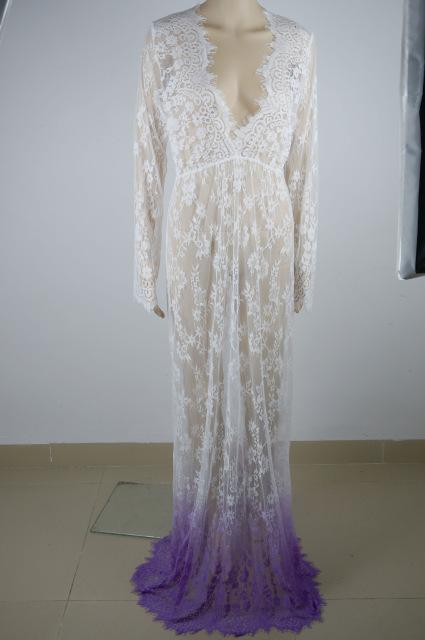 0cf39eab26 ArtSu Women Floor-Length Black White Summer Lace Dress Adjust Waist ...