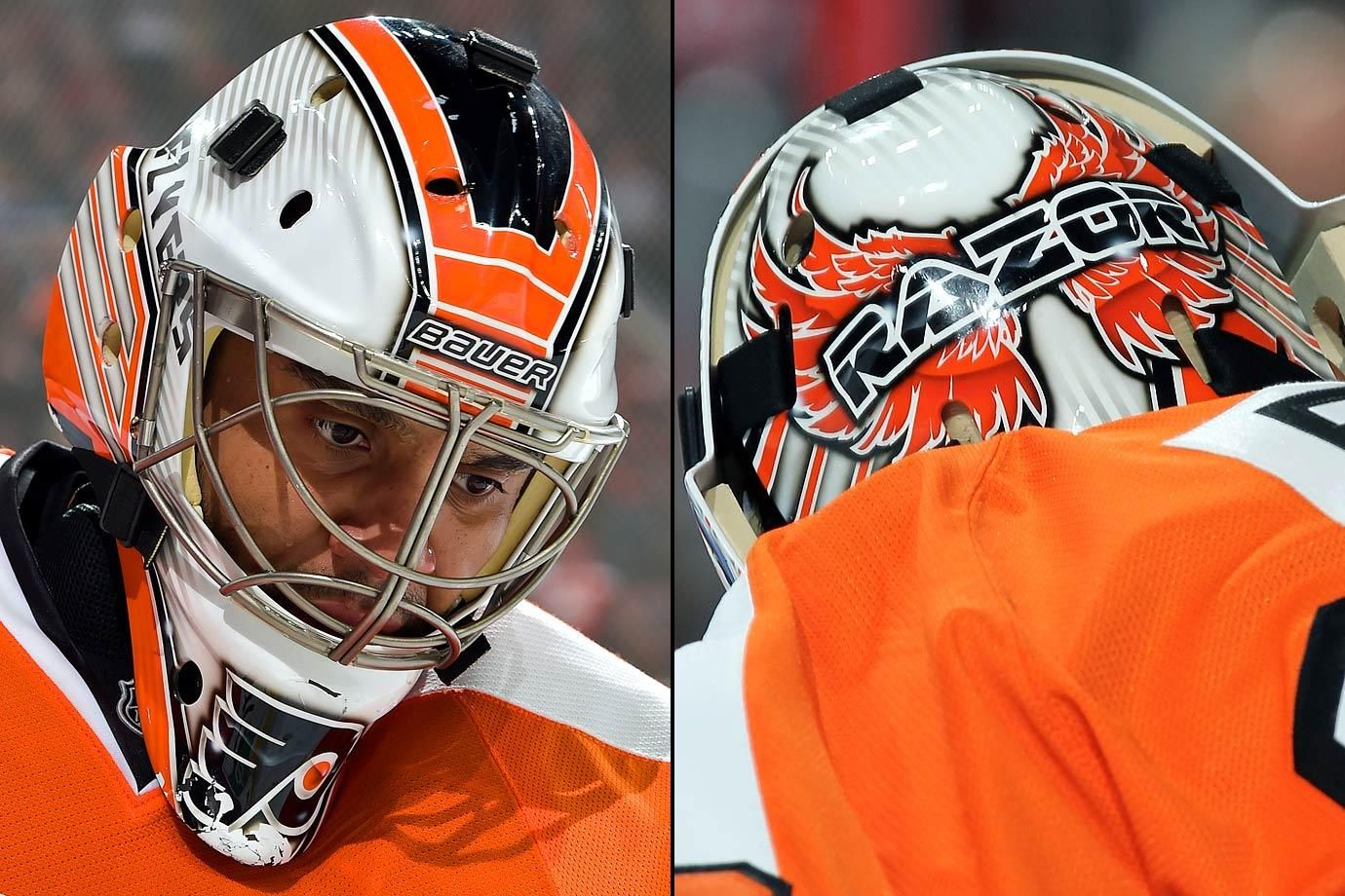 NHL Goalie Masks by Team (2016) Goalie mask, Goalie, Nhl