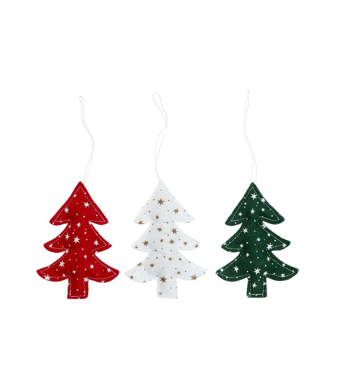 3-pak kersthangers - HEMA