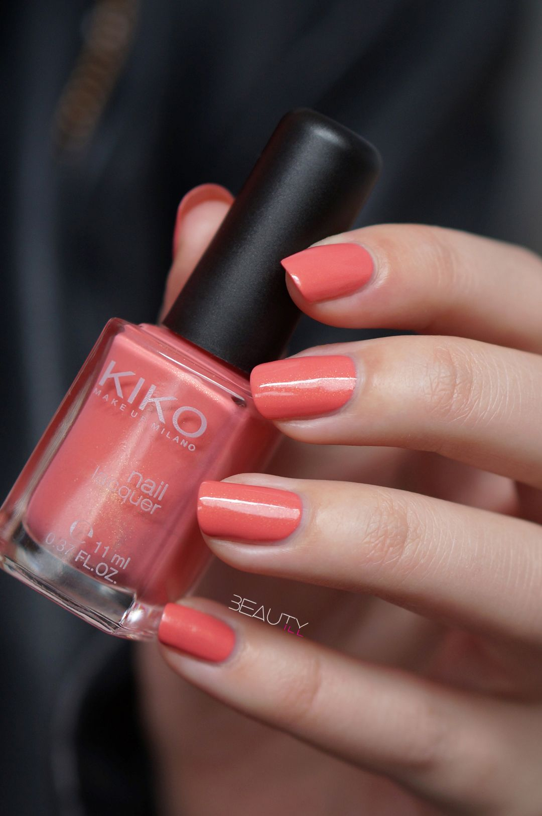 Kiko Pearly Coral Rose | nails | Pinterest | Swatch, Nail ...