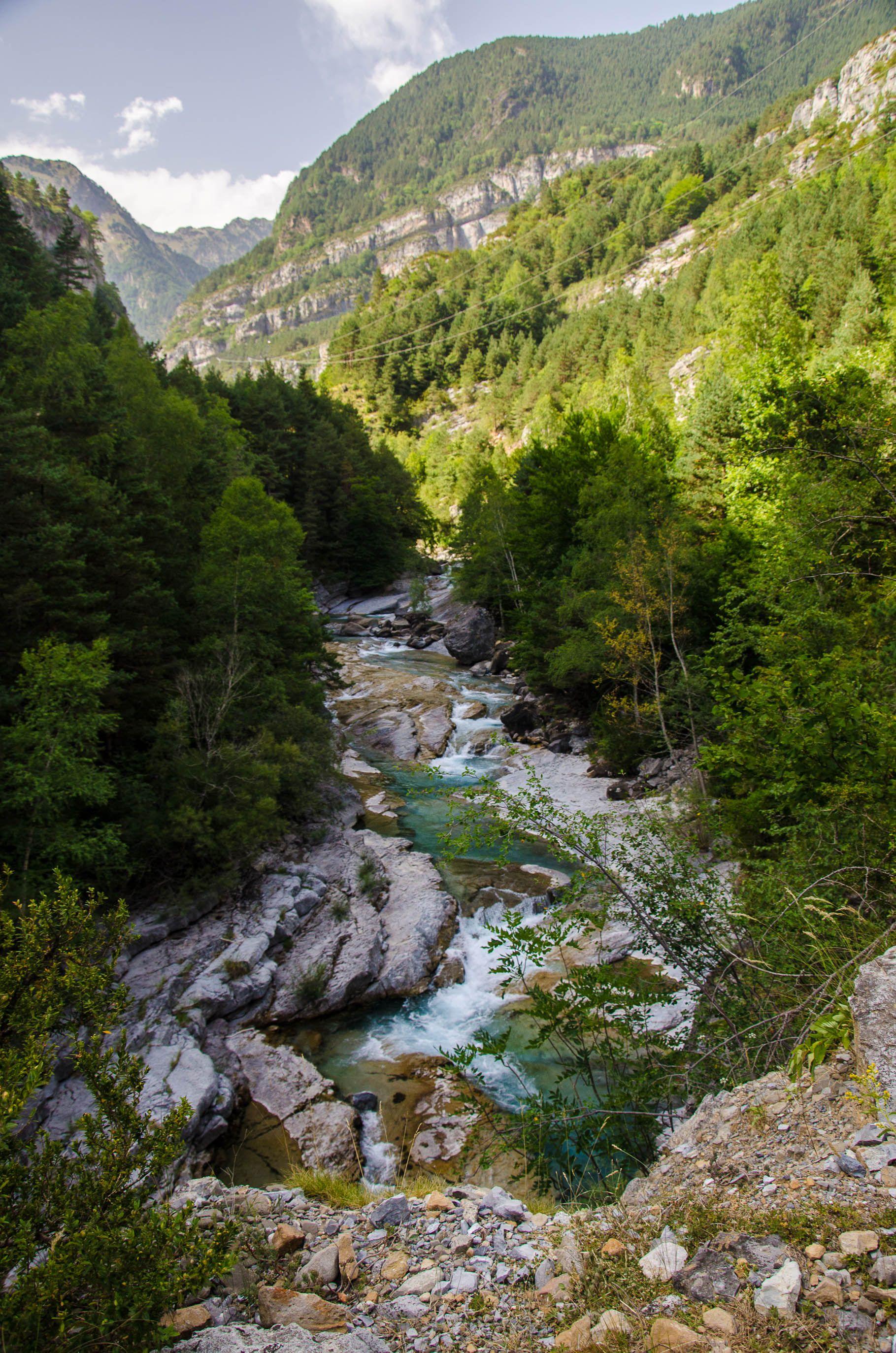Bujaruelo Huesca Spain Hogares De Campo Paisajes Vistas
