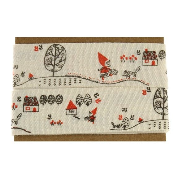 sooo nice  Ribbon Matchbook - Red Riding Hood - Fred Aldous