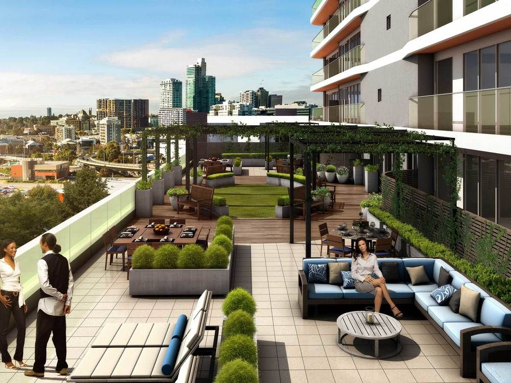 The Apartment Amenities That Are In High Demand In 2020 Outdoor Office Architecture Landscape Design