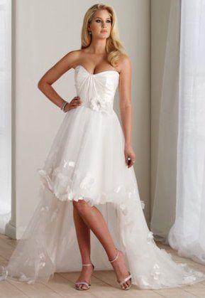 Vestidos de novias cortos 2015