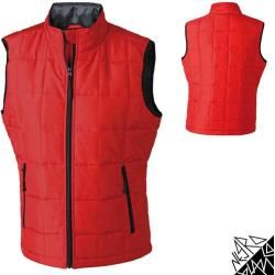 Photo of Ladies quilted vest with Thinsulate padding | James & Nicholson James & NicholsonJames & Nicholson