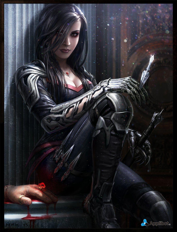 Image result for female hunter art
