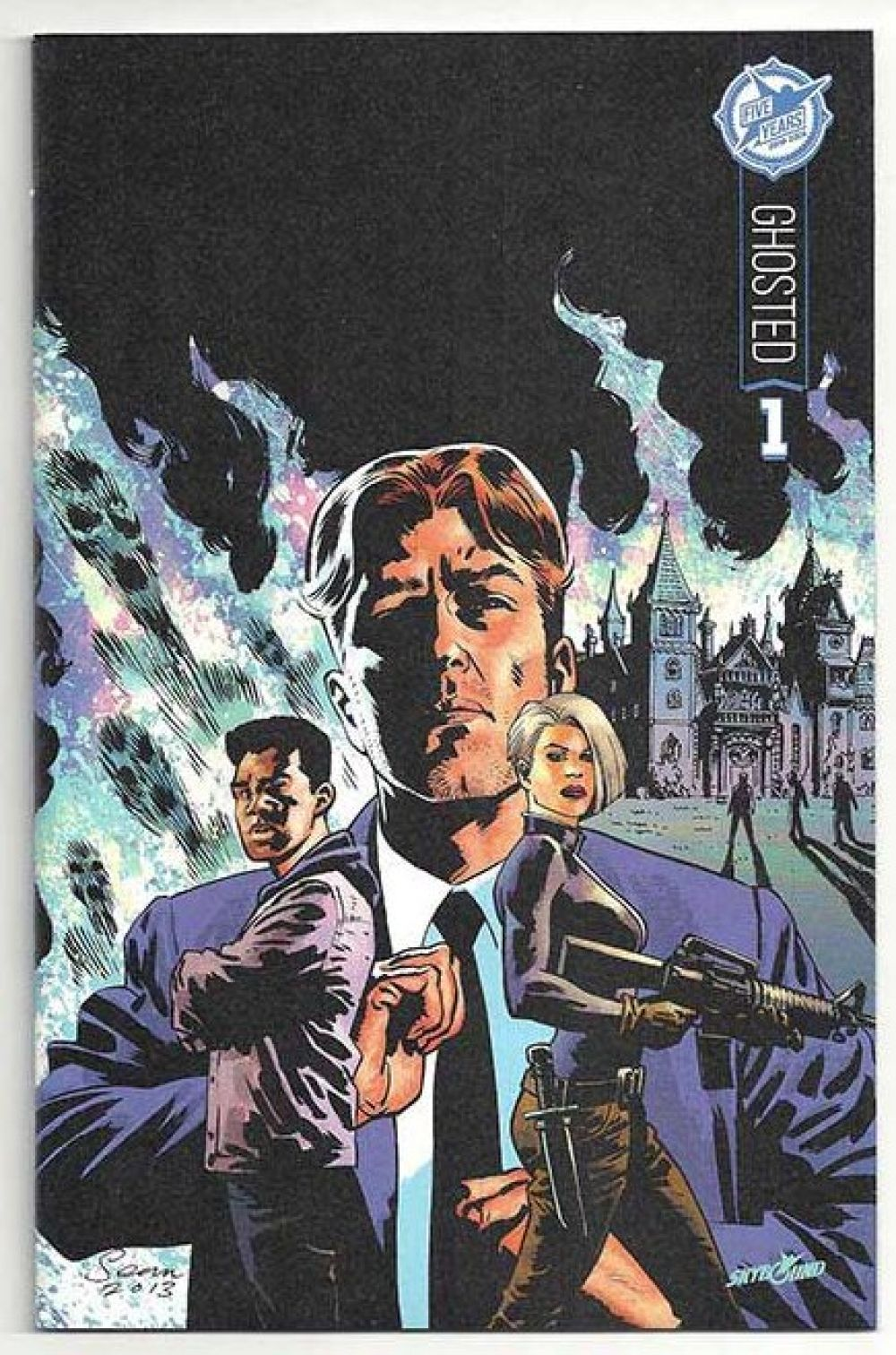Ghosted 1 Skybound 5th Anniversary Exclusive Variant in