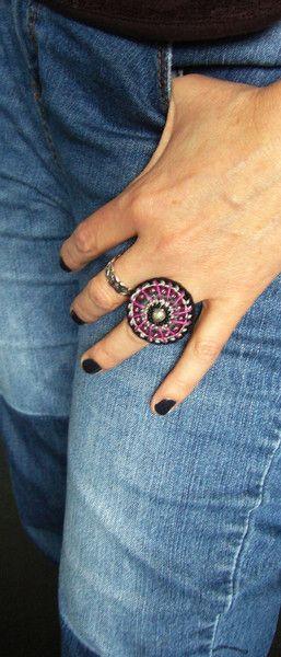 ○ ○ ○ Häkelring / crochet ring ○ ○ ○ von crochet.jewels auf DaWanda.com