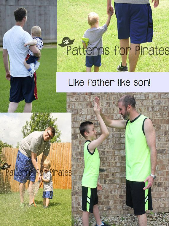 Mens BBall Shorts Sewing PDF Pattern Sizes XXS-XXL for boys or adult ...