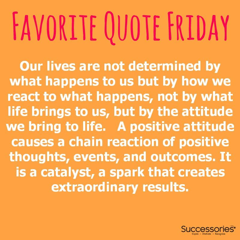Friday Motivational Quotes The Power Of Attitude Motivational Poster  Pinterest  Quotes