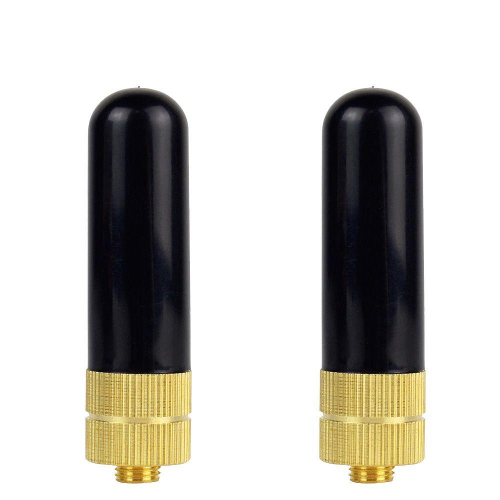 Dual Band UHF//VHF SMA-F Telescopic Antenna for Kenwood BAOFENG Retevis UV5R H777