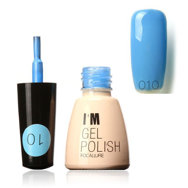 FOCALLURE I am Gel Polish Colors 95 Colors Soak-off Long Lasting Nail Gel Art Hot Sale Nail Gel Lacquer UV Lamp Dry