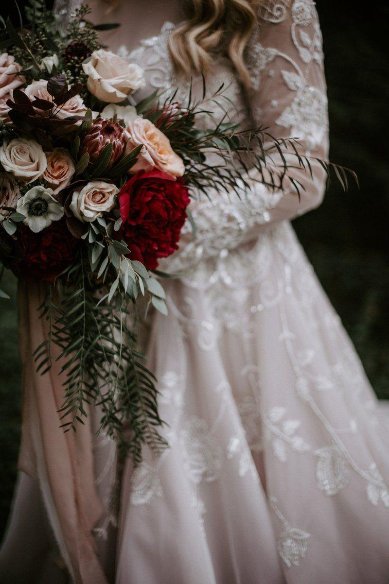 Rustic & Romantic Fall Webb Barn Wedding in Wethersfield ...