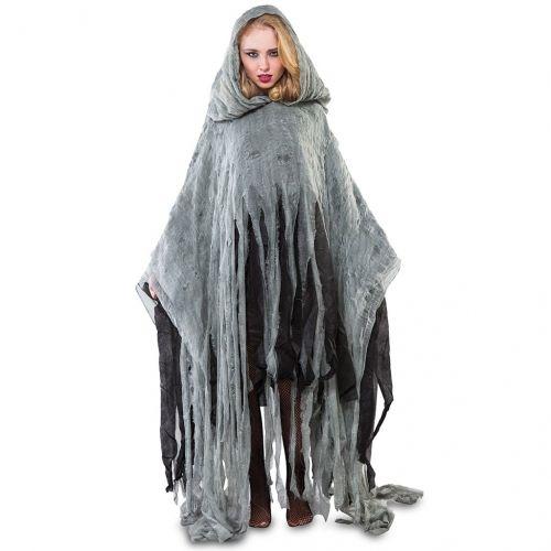 Disfraz de Poncho zombie 170cm. Adulto
