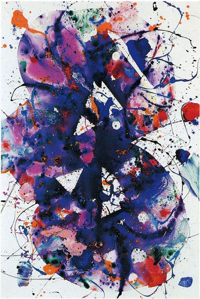 Sam Francis Painting Art In 2019 Action Painting Sam