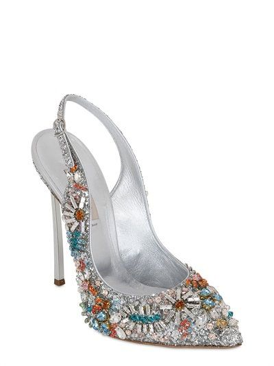 Daisie Crystal Jeweled Pumps oUbin