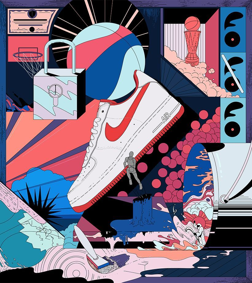 Chispa  chispear Aja operador  Nike+ Launch. Release Dates & Launch Calendar GB | Nike art, Sneaker art,  Sneakers illustration
