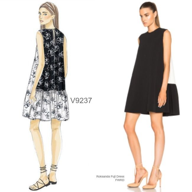 Sew the Look: Vogue Patterns V9237 dress sewing pattern | "|650|650|?|en|2|c198b668697a80668c68e9f1fe82258d|False|UNLIKELY|0.3011554181575775