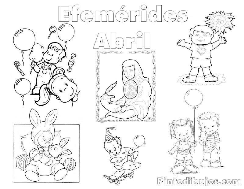 Efemerides Abril Con Imagenes Dibujos Imagenes De Clases