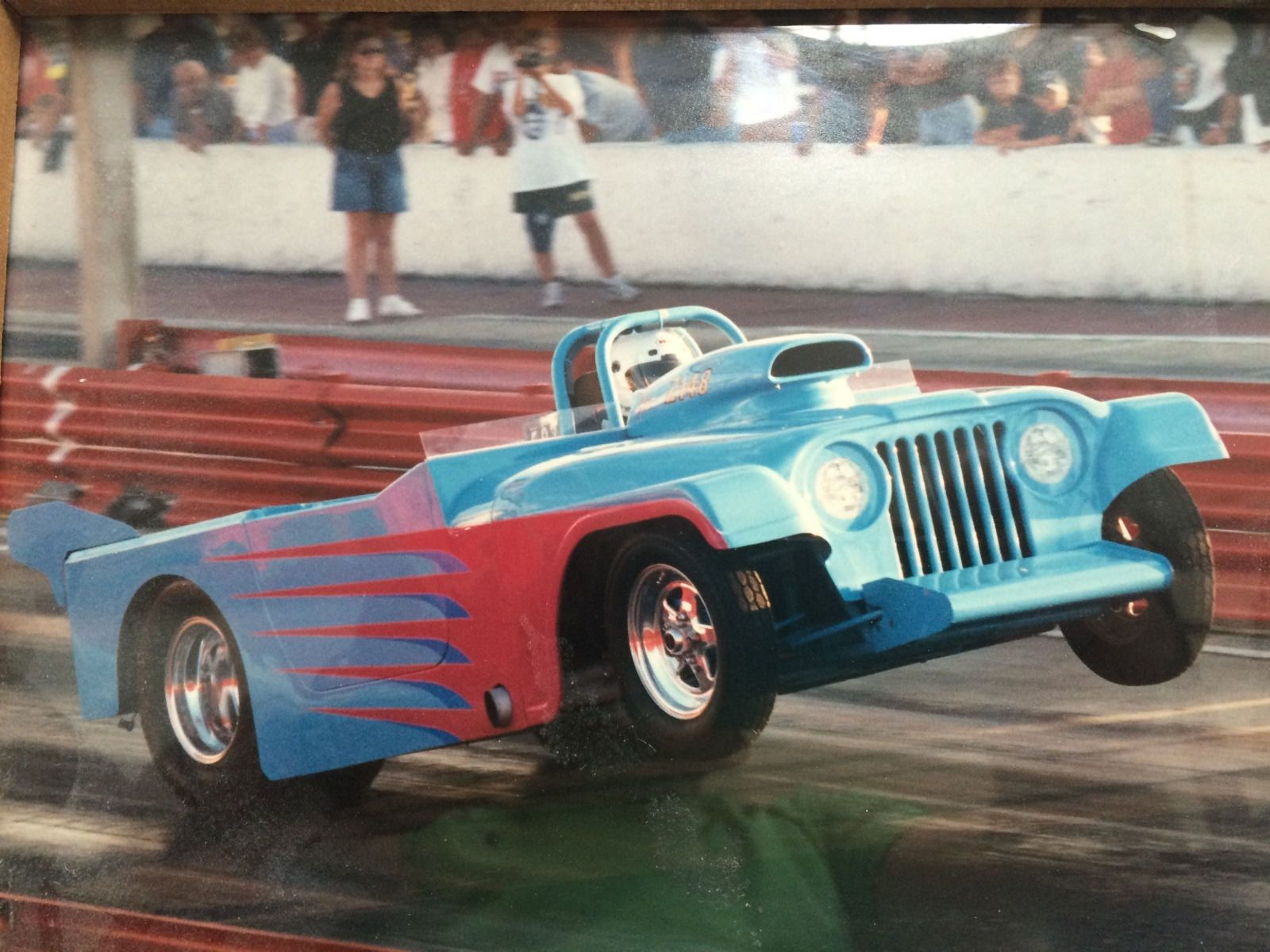 Jeep Willys Roadster Altered Drag Car Chassis | Race cars for sale ...