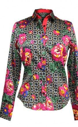 aa209d09856 Chemises pour femme - Souleiado • Souleiado - Mode femme et art de vivre  provençal